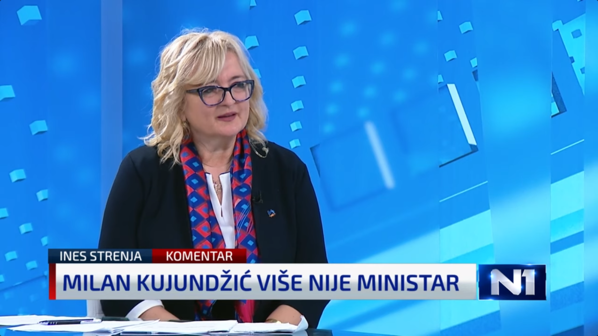 MOST: Ines Strenja pohvalila novog ministra