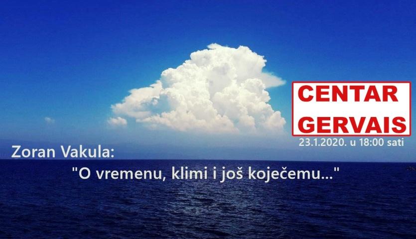 PROMJENA LOKACIJE: Predavanje: Zoran Vakula