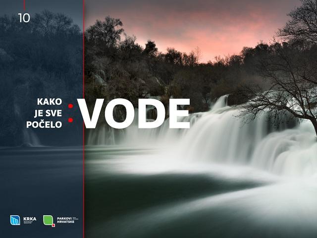 NP Krka, Kako je sve počelo: vode