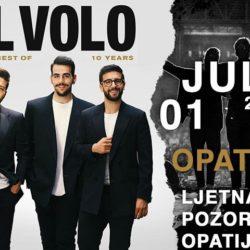 Senzacionalni pop-operni trio IL VOLO u Opatiji