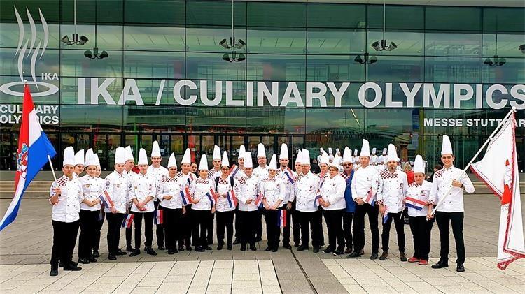 Hrvatska kulinarski tim na kulinarskoj olimpijadi