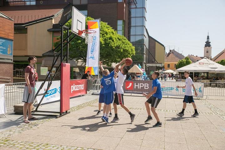 Veliki Kinder Sport turnir u uličnoj košarci stiže Primorsko-goransku županiju