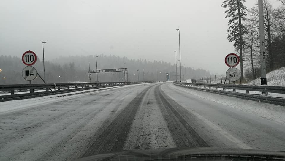 Gorski kotar pod snijegom, ceste prohodne