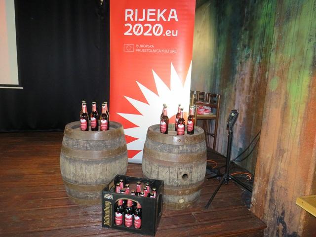Predstavljeno pivo Rijeka2020 powered by Tars