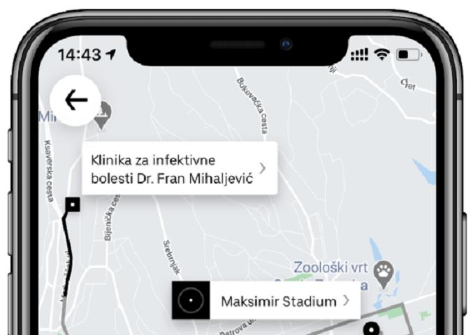 Uber donira dvije tisuće besplatnih vožnji djelatnicima hrvatskih bolnica