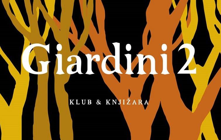 Klub & knjižara Giardini 2 u ponedjeljak, nakon više od mjesec dana, otvara vrata