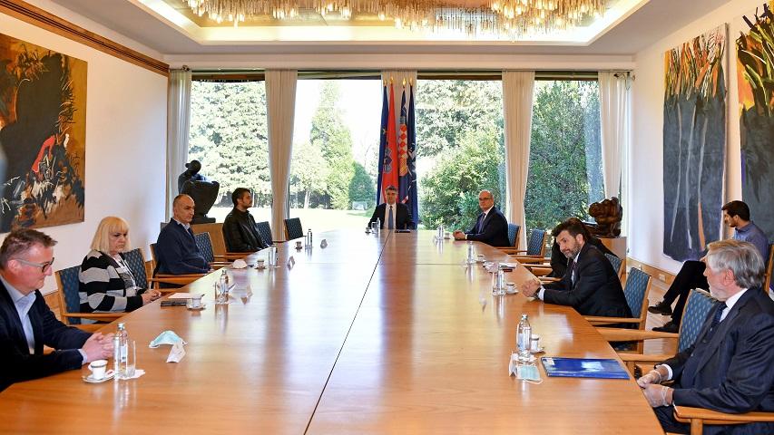 Predsjednik Republike zahvalio volonterima statičarima na nesebičnom angažmanu i trudu
