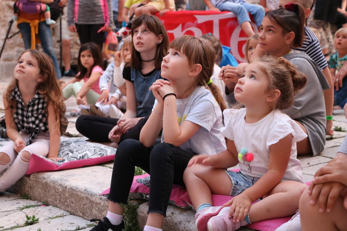 Otvorenje Sajma dječje knjige na Međunarodnom dječjem festivalu u Šibeniku