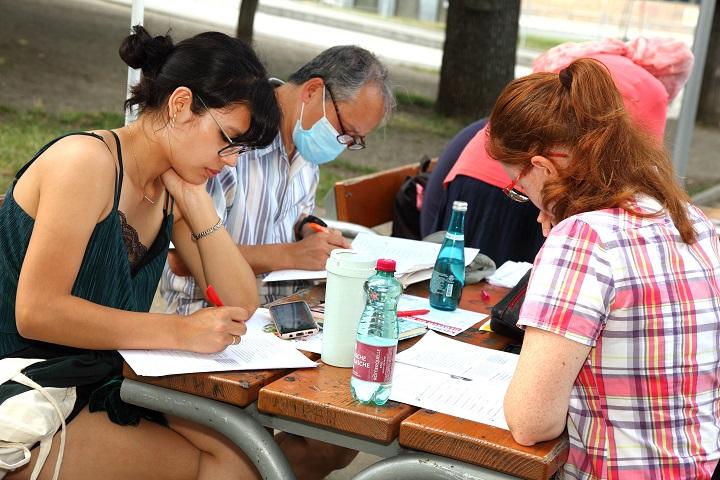 Besplatni tečajevi njemačkog u bečkim parkovima