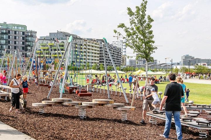 Beč ima fitness centre pod vedrim nebom