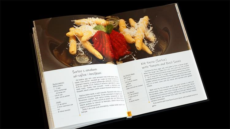 "Virtualno predstavljena kuharica ""KRK 50 delicija zlatnog otoka"""