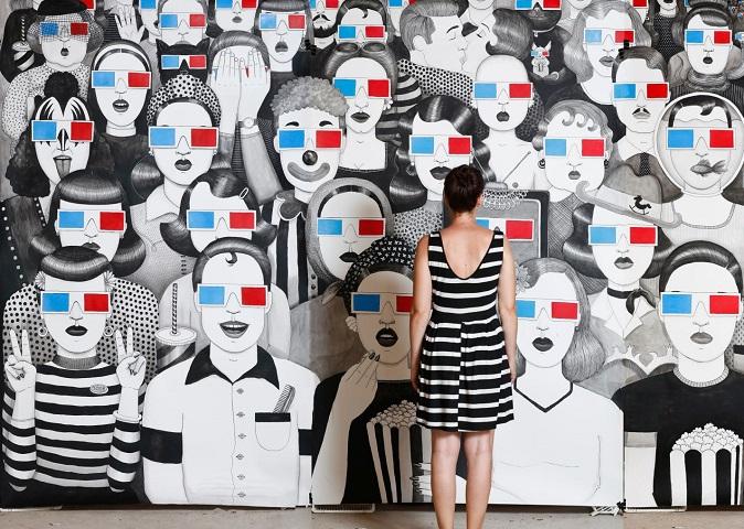 """Ljeto u Galeriji Kortil s izložbom Ivane Mrčele """"We are watching you"""""""