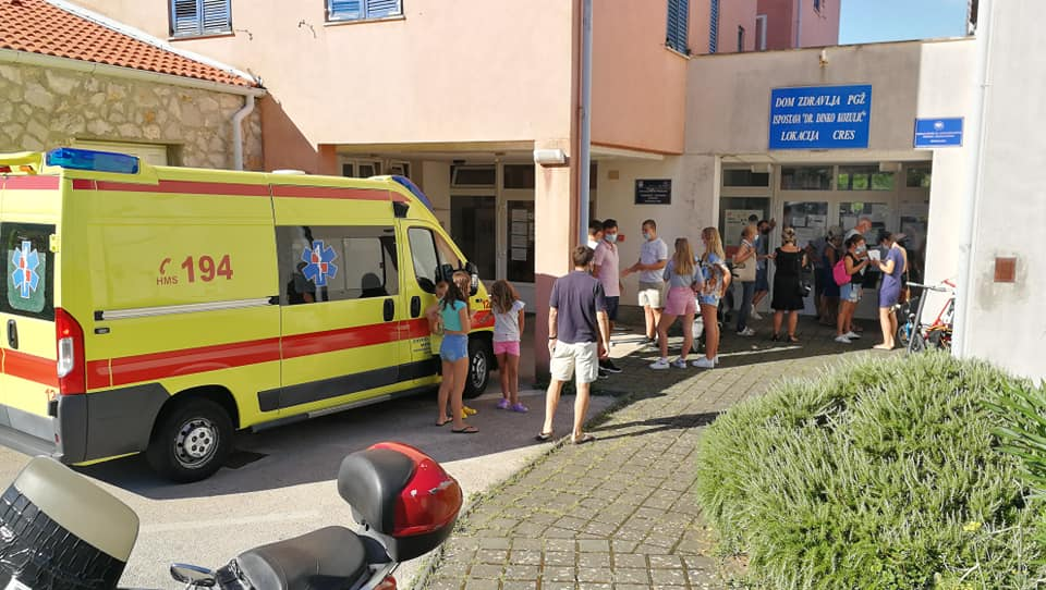 Prvo masovnije cijepljenje u Rijeci i Velikoj Gorici