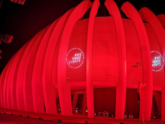 Zagrebačka i pulska Arena sinoć zasvijetlile u sklopu globalne inicijative Red Alert
