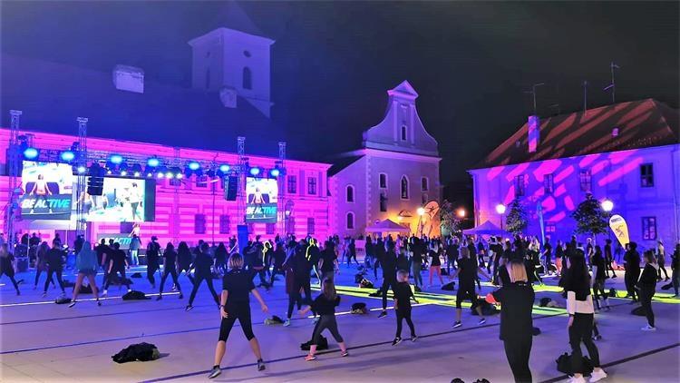 Održan #BeActive Night u Osijeku