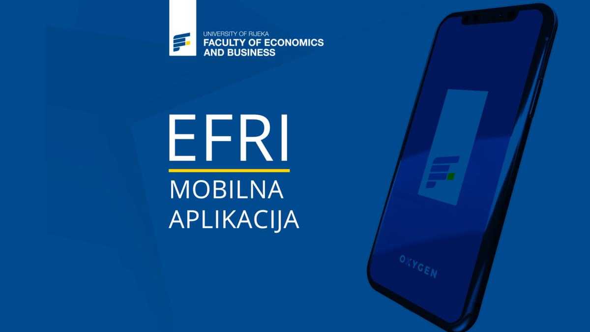 Ekonomski fakultet u Rijeci pokrenuo je svoju prvu mobilnu aplikaciju