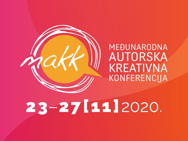 Petodnevna online Međunarodna autorska kreativna konferencija MAKK s nikad jačim programom
