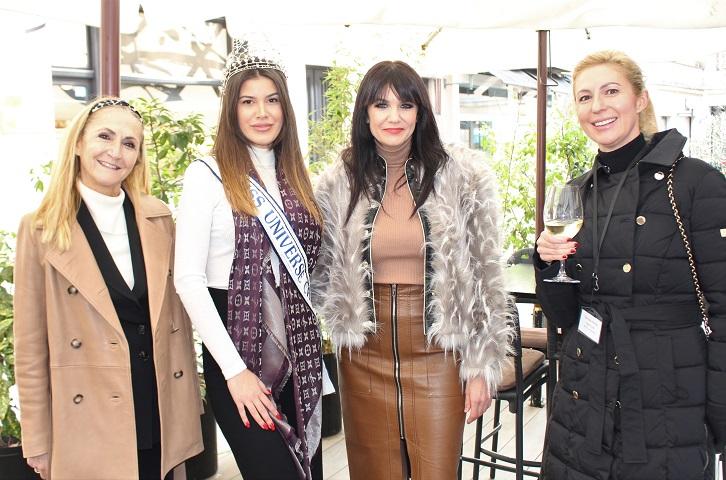 Miss Universe Mirna Naiia Marić posebna gošća IWC kluba Zagreb