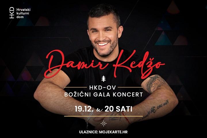 Prvi HKD-ov božićni gala koncert uz Damira Kedžu