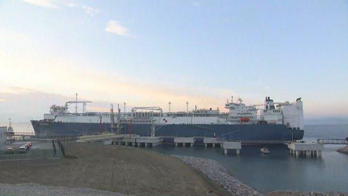 """Brod LNG Croatia stigao u Omišalj: """"Hrvatska na energetskoj karti svijeta"""""""