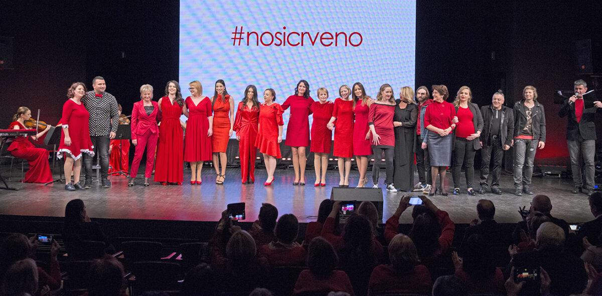 Svečano obilježavanje akcije Dan crvenih haljina