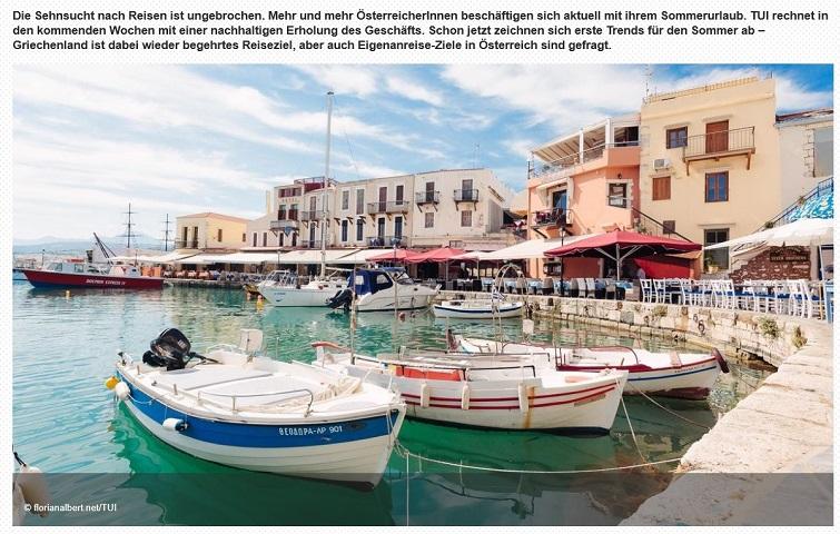 Hrvatska je druga najtraženija destinacija TUI-ja u 2021. godini